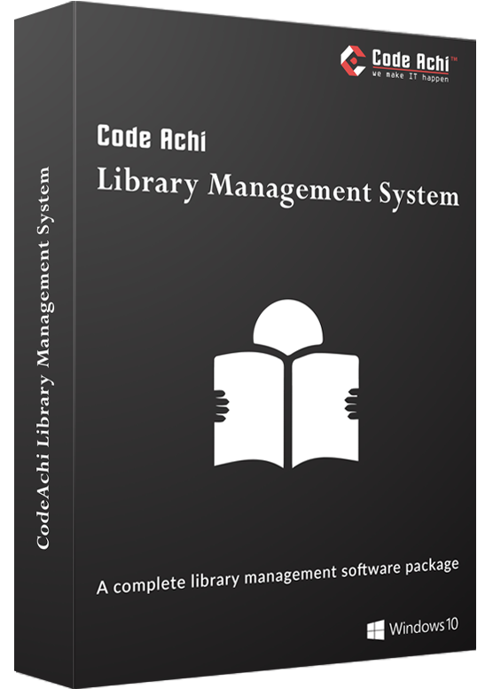 CodeAchi™ Library Management System
